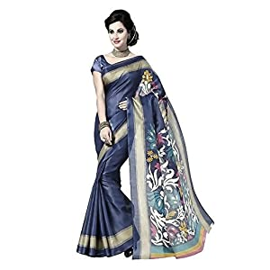 Taanshi Women's art silk Saree (Taanshi10915_Multi-Coloured)