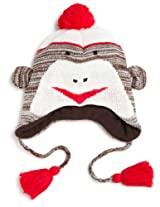 Muk Luks Little Girls'  Monkey Hat