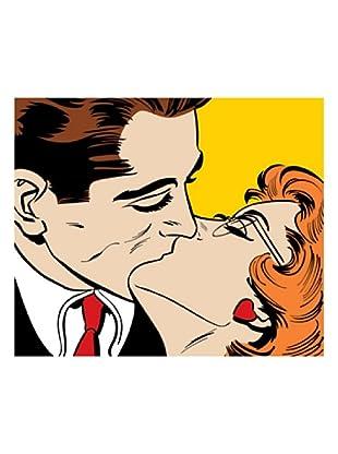 LegendArte  Wandbild Kissing Couple