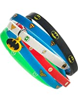 DC Comics Skinny Assorted Rubber Wristbands