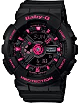 Casio Casio Baby-G Big Case Ladies Watch - Limited Edition - Ba-111-1Ajf (Japan Import) - Ba-111-1Ajf