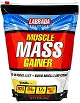 Labrada Nutrition Muscle Mass Gainer - 6 lbs (Vanilla)