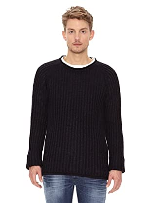 Nudie Jeans Jersey Punto (Negro)