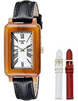 Kenneth Jay Lane Women's KJLANE-0913S-BSET Moderne Analog Display Japanese Quartz Black Watch