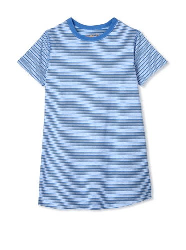 Soft Clothing Girl's Marseille Tee Dress (Light Blue)