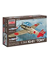 Minicraft Ki-61 Tony IJA with 2 Marking Options Model Kit, 1/144 Scale
