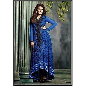 Adorable Deep Blue Salwar Kameez