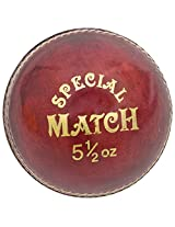 HAWK Special Match Men's Cork Cricket Ball 4 Pc Red