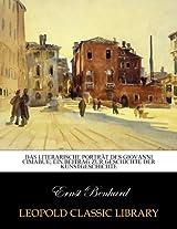 Das literarische Porträt des Giovanni Cimabue; ein Beitrag zur Geschichte der Kunstgeschichte