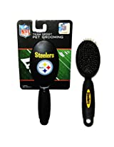 Pets First NFL Pittsburgh Steelers Pet Grooming Brush