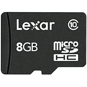 Lexar micro SDHC Card 8GB Class 10