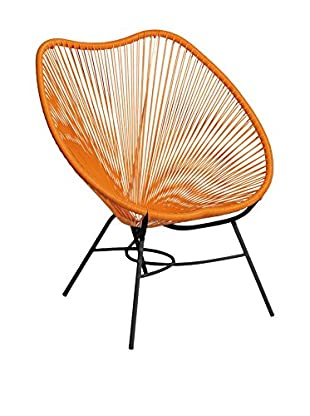 LO+DEMODA Stuhl Mexico Shell orange