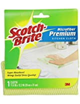 Scotch-Brite Premium Kitchen Cloth, Colors May Vary,  1-Count (Pack of 3)