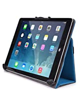 Kroo Universal Multi Fit 8 to 10-Inch Tablet Folio Case with Camera Fold, Blue (MU10EGB1-8380)