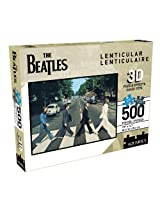 Beatles Abbey Road 500 Piece Lenticular 3D Jigsaw Puzzle