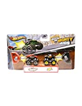 Hot Wheels Monster Jam - Mighty Minis - Grinder and Team Hot Wheels