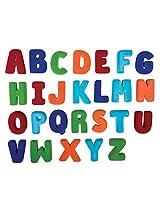 Rubbabu Large Magnetic Uppercase Alphabet Set - 10 cm