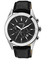 DKNY Analog Black Dial Men's Watch - NY1508