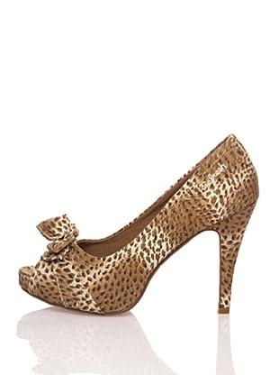 Refresh Zapatos Textil (Marrón / Arena)
