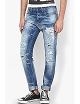 Blue Slim Fit Jeansblue Slim Fit Jeans (Erik) Jack & Jones