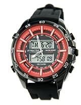 Q&Q Analog-Digital Orange Dial Men's Watch - DE08J542Y
