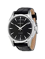 Hamilton Jazzmaster Black Dial Leather Men'S Watch - Hml-H32505731