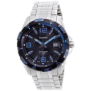 Casio Enticer Analog Black Dial Men's Watch - MTD-1065D-1AVDF (A499)