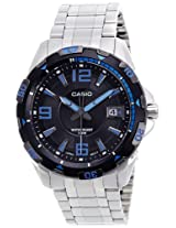 Casio Enticer Analog Black Dial Men's Watch - MTD-1065D-1AVDF (A499)