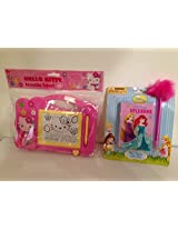 Hello Kitty Erasable Tablet Disney Spring Splendor Mini Diary with Pen
