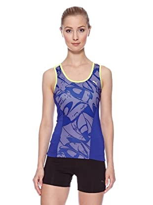 PUMA Tank Top Ess Gym Graphic (clematis blau/sharp green)