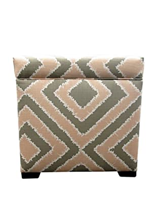 Sole Designs Tami Storage Ottoman, Nouveau Blush