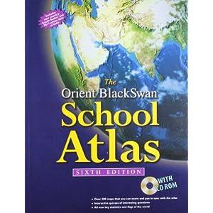 The Orient BlackSwan School Atlas (with CD-ROM) (OBS School Atlas)