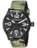 Stuhrling Original Analog Black Dial Men's Watch - 141C.01