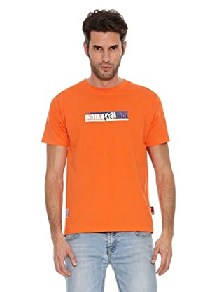 The Indian Face Camiseta Cullman (Naranja)