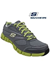 Skechers Women'S Sports Shoe 11635- Charcoal Lime