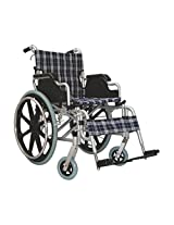 KosmoCare Elegant Plus Premium Foldable Aluminium Wheelchair