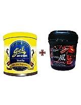 Car Perfume Areon Gel & Kaze Air Freshner - Vanilla&Sandal Spice