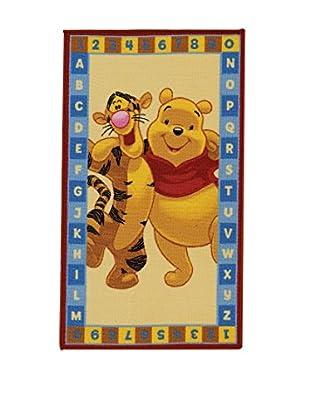 Disney Teppich Winnie Abc beige 80 x 140 cm