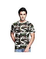 Clifton Mens Cotton T-Shirt (Aaa00013481 _off White _Small)