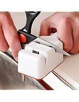 Dual Slot Kitchen Knife Sharpener Sharpening Stone Household Kitchen Tool