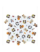 Lambs & Ivy Bow Wow Buddies Fitted Sheet