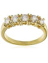 Shaze Ring for Women (Gold) (5 STONE RING GOLD 64153:6)