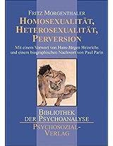 Homosexualitat, Heterosexualitat, Perversion