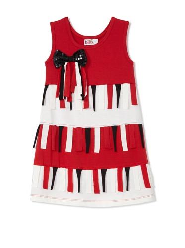 Lilo Girl's Flecos Chic Dress (Red)