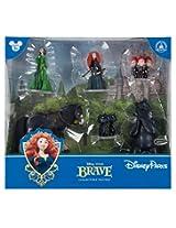 Brave Pixar Disney Parks Figurine PVC Playset Play Set Cake Topper NEW by Disney