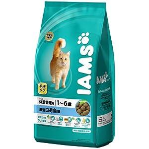 アイムス 毛玉ケア アイムス 体重管理用 1~6歳 厳選白身魚味 3kg 猫用