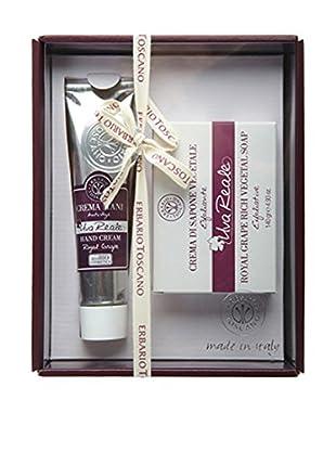 Erbario Toscano Royal Grape 2-Piece Hand Cream & Soap Gift Set