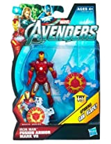 Marvel Avengers Movie 4 Inch Action Figure Fusion Armor Iron Man