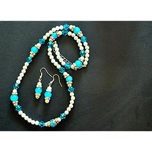 Varishta Jewells Trendy Handmade Beaded Jewellery Set jewellery Set
