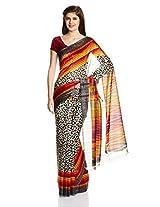 Satrang Saree with Blouse Piece